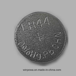 Zinc Manganese Oxide 0% Hg Button Cell Lr44 Battery pictures & photos