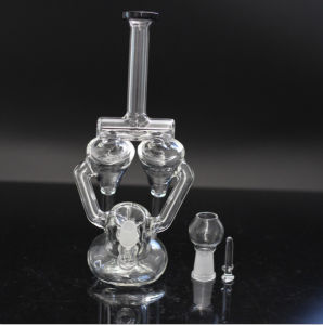 Hot Glass Smoking Recycler Pipe pictures & photos