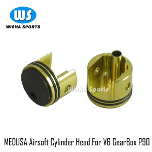 Wholesale Medusa Airsoft Rifle CNC Cylinder Head for P90 Aegs