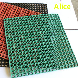 China Outdoor Rubber Flooring Drainage Rubber Mat Anti Slip Floor Mat China Anti Slip Floor