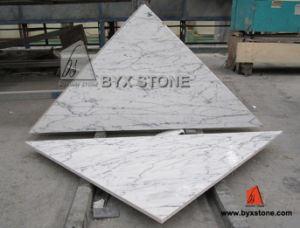 Bianco Statuario Marble Composite Panel / Tile with Porcelain Backed pictures & photos