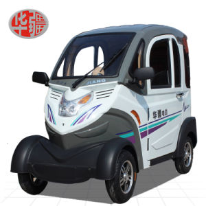 Huajiang Totally Enclosed Four Wheel Electric Car pictures & photos