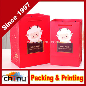 Art Paper White Paper Shopping Gift Paper Bag (210175) pictures & photos