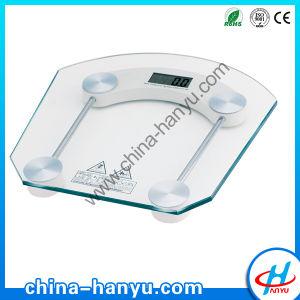 Glass 180kg 8mm Digital Bathroom Scale (HY-2011B)