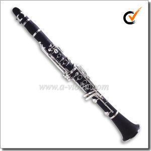 17 Nickel Plated Keys Student Bb Bakelite Clarinet (CL3041N) pictures & photos