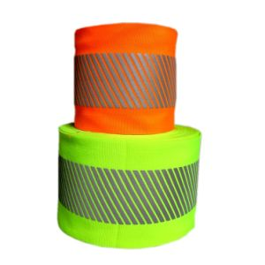 Yellow/Orange Reflective Warning Tape pictures & photos