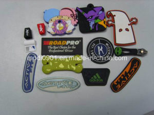 2015 China Factory Durable 3D Silicone Label Factory Directly Garments Rubber Label Rubber Label pictures & photos
