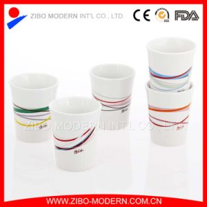 Mini Sublimation White Ceramic Mug No Handle pictures & photos
