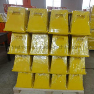 Polyurethane Aircraft Foam Wheel Chock pictures & photos