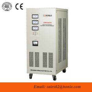 Jsw Series Precision Purifying Three Phase AC Automatic Voltage Regulator/Stabilizer pictures & photos