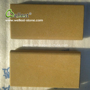 Factory Wholesale Gloden Yellow Sandstone Tile pictures & photos
