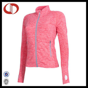 Wholesale High Quality Women Compression Fitness Jacket pictures & photos