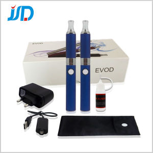 Adjustable Voltage Evod Electronic Cigarette, E-Cigarette, E Cigarette, E-Cigar with 2 Pieces
