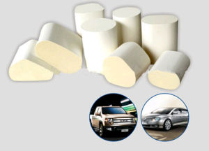 Cordierite Honeycomb Ceramic Substrate for Car/Motorcycle pictures & photos