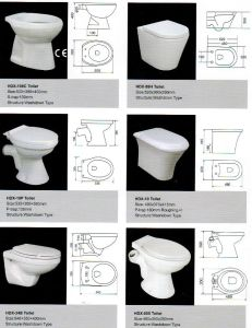Ceramic Toilet, Toilet, High Quality Ceramic Toilet