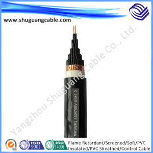 Flame Retardant/Screened/Soft/PVC Insulated/PVC Sheathed/Control Cable pictures & photos