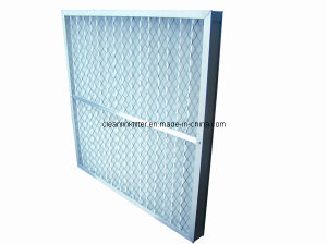 Metal Frame Pleated Air Filters pictures & photos