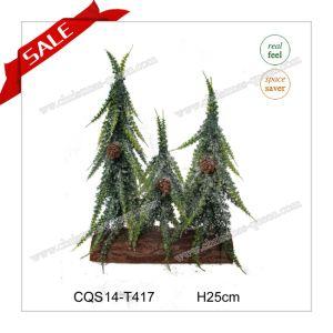 20cm Wholesale Mini Snowing White Decorative Christmas Tree pictures & photos