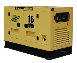 Water-Cooled Silent Diesel Engine Generator Set (GF-15kVA) pictures & photos