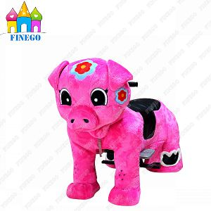 Finego Indoor Outdoor Amusements Kiddy Car Zippy Animal Walking Ride pictures & photos