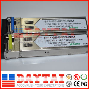 Good Performance 1.25g Bidi 3km SFP Module pictures & photos