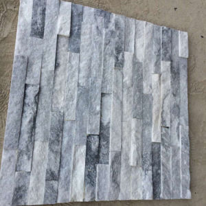 Natural Grey Marble Stacked Stone Wall Cladding (SMC-SCP468) pictures & photos