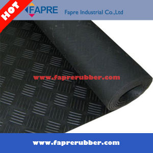 Broad Fine Ribbed/Checker Pattern/Coin Pattern (Round Stud) /Corrugated/Diamond Thread Pattern Rubber Mat Sheet Roll Floor (Workshop and Car) pictures & photos