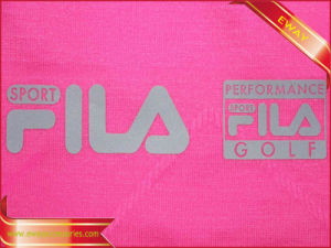 Silicone Heat Transfer Label Clothing PVC Iron on Label pictures & photos