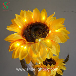 LED Artificial Sunflower Lights for Decoration Light pictures & photos