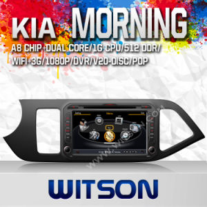 Car DVD Player KIA Morning with A8 Chipset S100 (W2-C217) pictures & photos