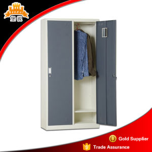 Commercial Use Metal 2-Door Clothes Cabinet pictures & photos