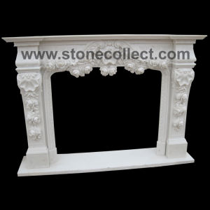 Hand Carved Fireplace pictures & photos