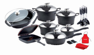25PCS Aluminum Cookware Set (UK-AS02)