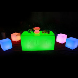 Outdoor LED Coffee Table and Chair Waterproof pictures & photos