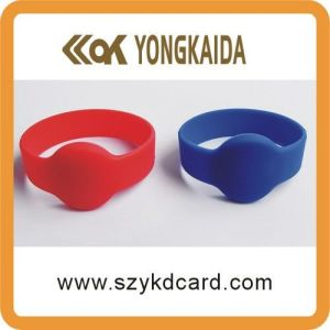Different Frequency Silicone RFID Wristband