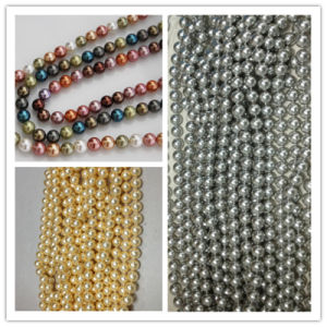 8mm Perfect Round Shell Loose Pearls Large Hole Pearl Beads pictures & photos