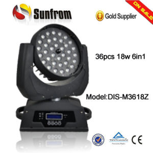 36 X 15W 5in1 Zoom LED Moving Head Wash pictures & photos