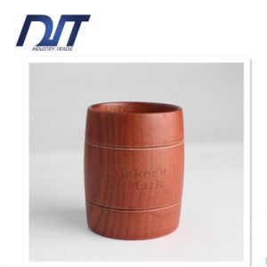 Food Safe Daily Use Drinking Wooden Tea Mug pictures & photos