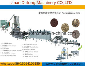 High Protein Steam Types Fish Feed Machine pictures & photos
