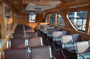 80persons Steel Material River Tour Boat for Sale pictures & photos