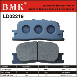 Wear Resistant Brake Pads (D2219) pictures & photos