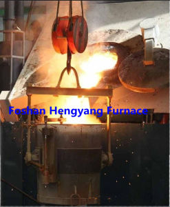 Industrial Induction Melting Furnace in Foundry for Metal Steel Copper with Steel Sheel pictures & photos