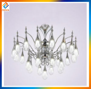 Home Decoration Lighting Crystal Modern Metal Chandelier pictures & photos