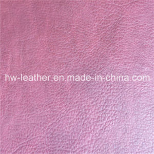 Fashion High Quality Embossed Leather for Sofa Hw-105 pictures & photos