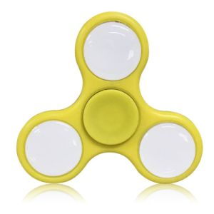 Hotsale LED Light Hand Finger Spinner Fidget Plastic EDC Hand Spinner for Autism and Adhd Relief Focus Anxiety Stress Gift Toys pictures & photos