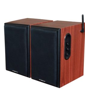 Hifi Wireless Bookshelf Speaker (2.4GHz, 2.0 channel, 50W) pictures & photos