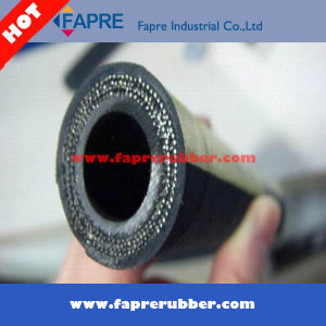 Steel Wire Renforced Rubber Covered Hydraulic Hose DIN 2sh pictures & photos