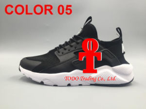 Newest 2017 Air Huarache IV Running Shoes for Men Women, Black White High Quality Sneakers Triple Huaraches Jogging Sports Shoes EUR 36-46 pictures & photos