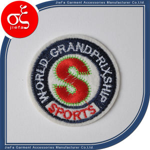 Wholesale Heat Press Embroidery Patch for Garment pictures & photos