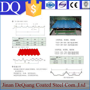 Corrugated Painted Galvanized Steel Sheet/Corrugated Stainless Steel Sheet